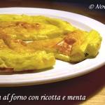 Frittata al forno con ricotta e menta ricetta secondo piatto