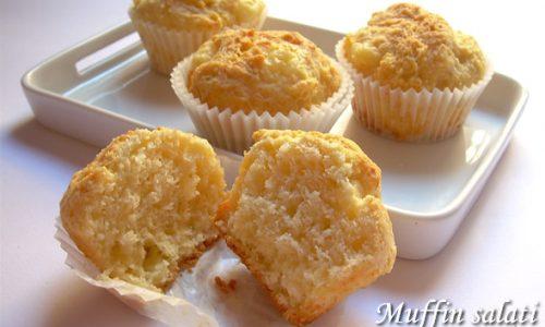 Muffin salati al formaggio ricetta finger food