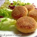 Polpette di patate e ricotta ricetta secondo piatto
