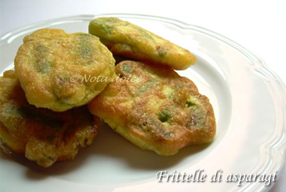 Frittelle di asparagi, ricetta sfiziosa