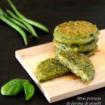 Mini frittate di farina di piselli ricetta facile