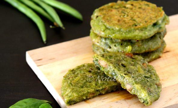 Mini frittate di farina di piselli ricetta vegana facile