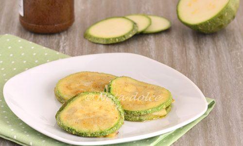 Sandwich di zucchine ricetta sfiziosa vegana