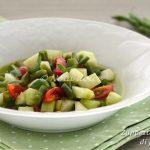 Zuppetta fredda di fagiolini ricetta leggera estiva