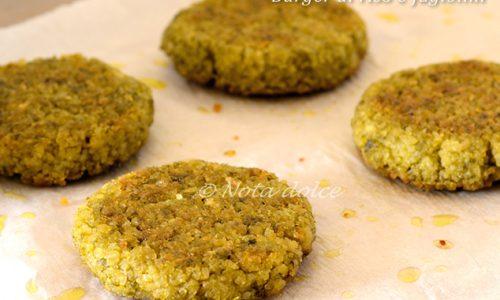 Burger di riso e fagiolini ricetta secondo vegano