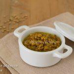Lenticchie al cocco e curcuma ricetta veloce