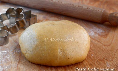 Pasta frolla vegana ricetta dolce facile