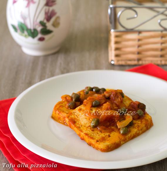 Tofu alla pizzaiola ricetta facile