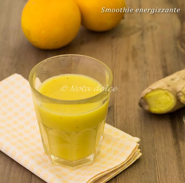 Smoothie energizzante ricetta bevanda