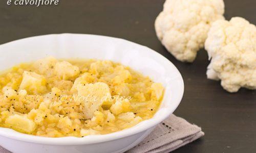 Zuppa di lenticchie rosse e cavolfiore ricetta veloce