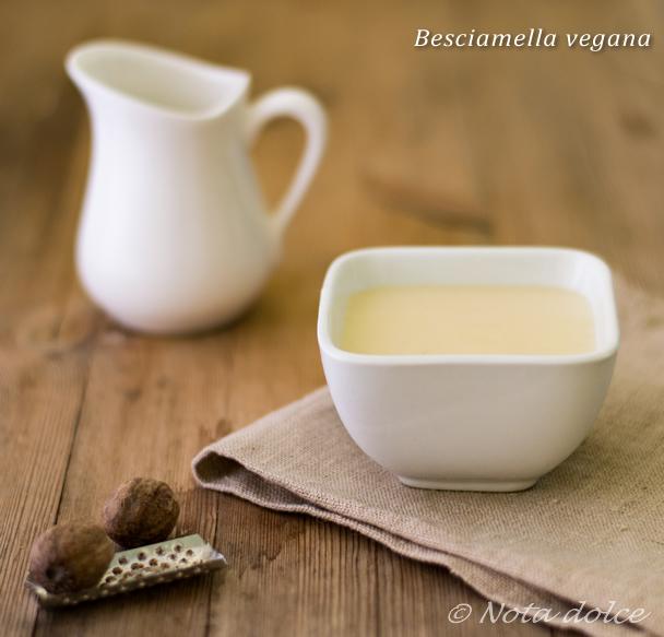 Besciamella vegana ricetta facile