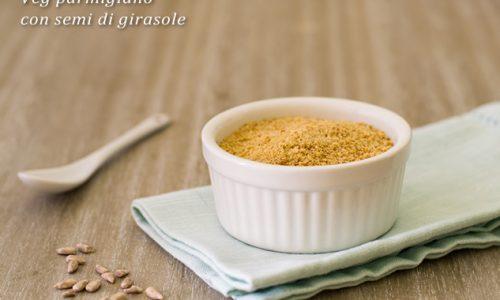 Veg parmigiano con semi di girasole ricetta facile