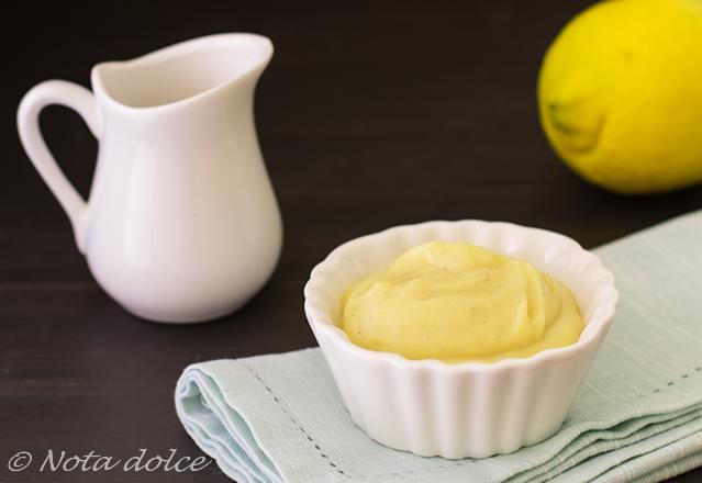 Crema pasticcera vegetale ricetta
