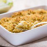 Crumble salato di finocchi ricetta facile