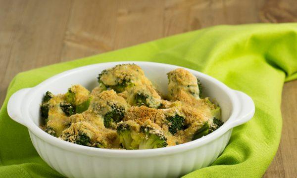 Broccoli gratinati con besciamella vegana ricetta facile