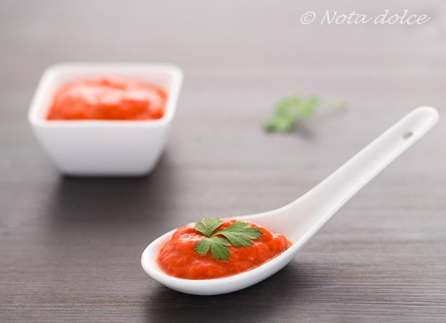 Salsa di peperoni arrostiti ricetta facile