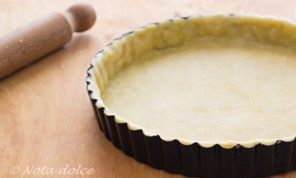 Pasta brisee vegana ricetta facile