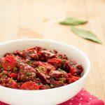 Stufato di barbabietole e lenticchie ricetta facile