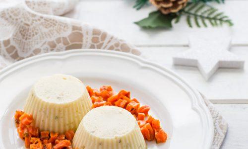 Sformatini al cavolfiore con carote agrodolci ricetta facile