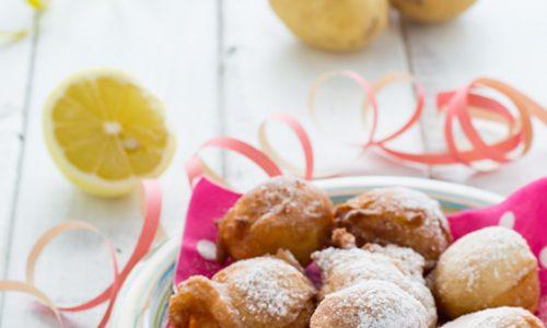 Frittelle dolci con patate e limone ricetta veloce senza uova