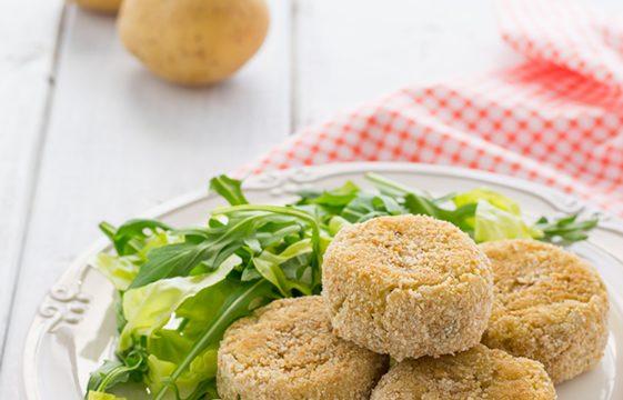 Crocchette di patate e riso ricetta vegana