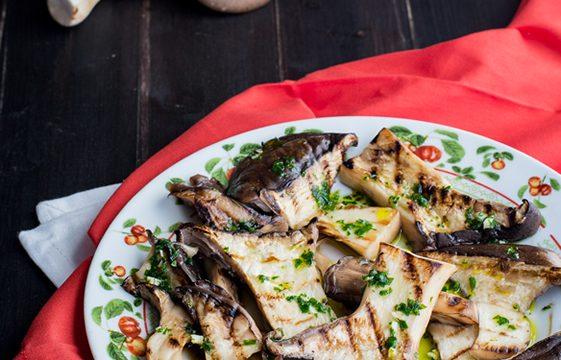 Funghi grigliati ricetta facile e gustosa