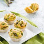 Muffin salati agli asparagi ricetta senza uova