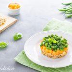 Tartare di tofu con fagiolini e melone ricetta facile