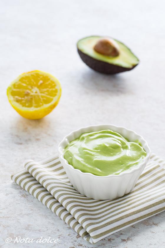 Finta maionese di avocado ricetta veloce