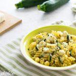 Fusilli con zucchine e feta ricetta facile e veloce