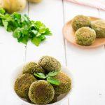 Polpette di spinaci con patate e tofu ricetta facile