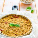 Torta salata con fagioli e peperoni ricetta facile