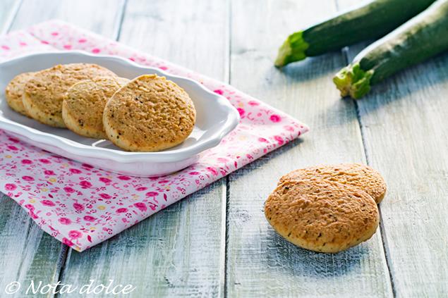 Biscotti alle zucchine ricetta dolce facile