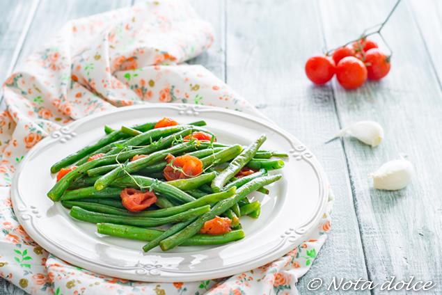 Fagiolini alla provenzale ricetta facile e veloce