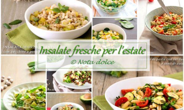 Insalate fresche per l'estate ricette facili e sfiziose