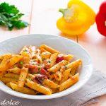 Penne con peperoni e crema alla paprika affumicata ricetta facile