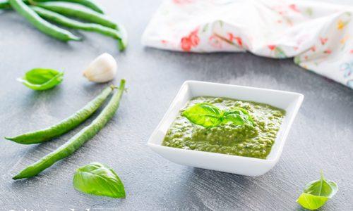 Pesto al basilico e fagiolini ricetta facile