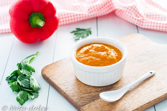 Salsa di peperoni alla paprika affumicata ricetta sfiziosa