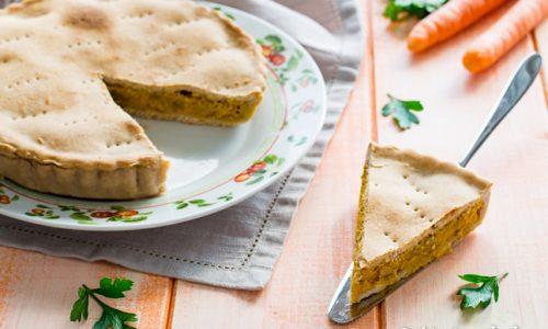 Torta salata carote e porcini ricetta gustosa
