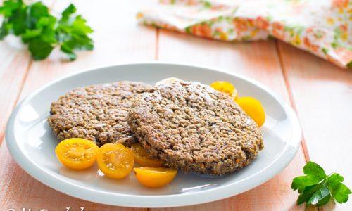 Burger di farro e funghi ricetta vegana facile
