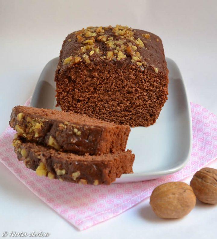 Plumcake al cacao e panna ricetta