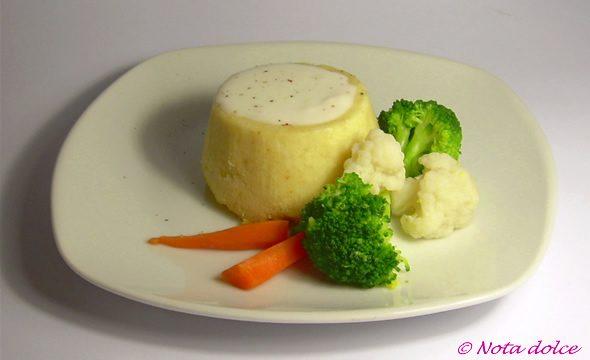 Sformatini di cavolfiore ricetta facile festiva