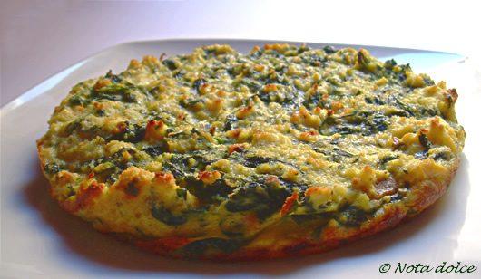 Sformato di spinaci e pane ricetta riciclo avanzi