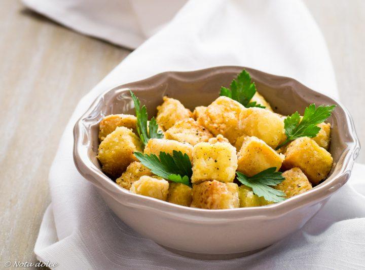 Tofu croccante al pepe bianco e nero ricetta sfiziosa