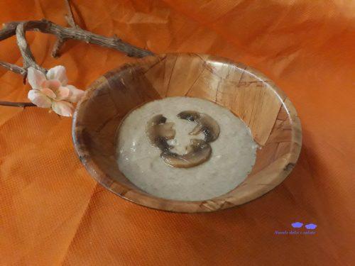 Crema ai funghi champignon