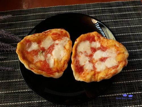 Pizzette a forma di cuore
