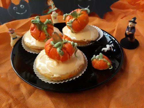 Muffin alla zucca di Halloween