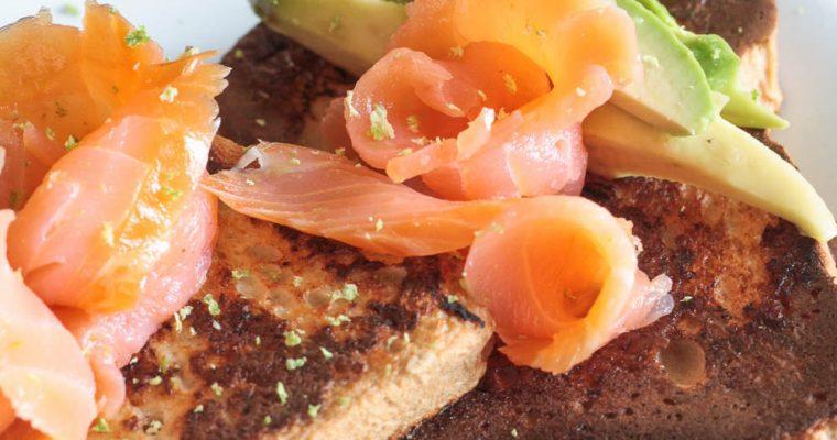 Fit French toast salato: il pasto ricco, gustoso e gluten free