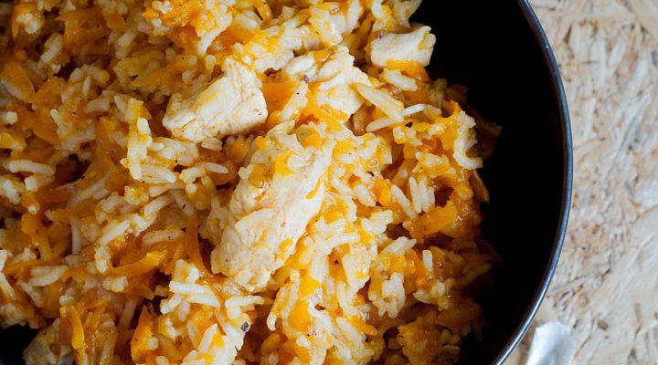 Chicken Plov o riso pilaf con pollo, una ricetta light