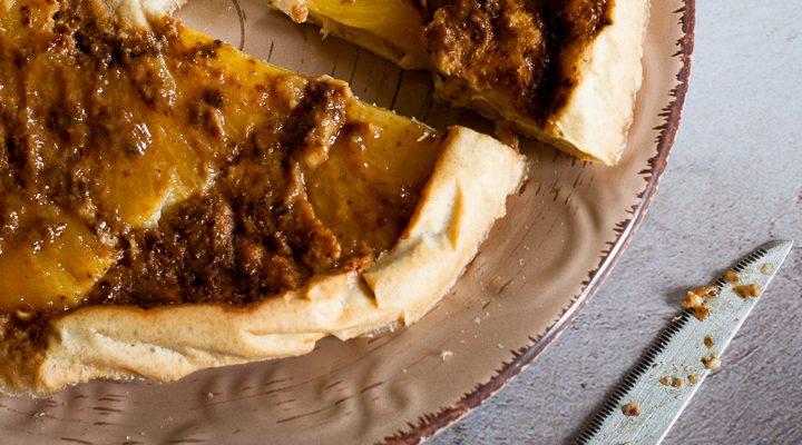Volteado de piña, la torta all'ananas capovolta e senza grano